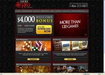 Lucky Red Casino Screenshot