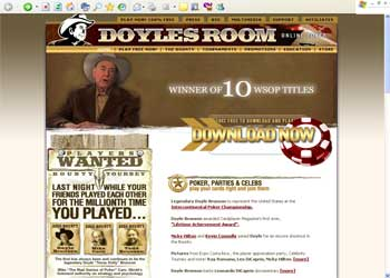 Doyles Poker Room Screenshot